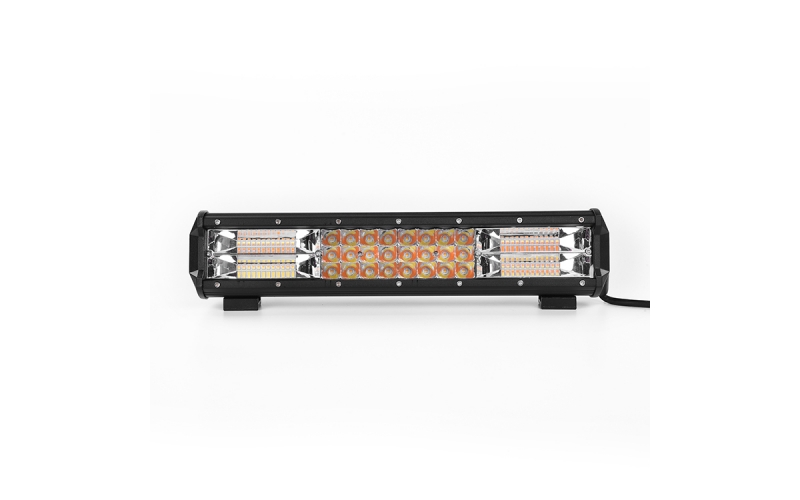 V21BC Bi-Color( White&Amber)+ Strobe Flash Light Bar